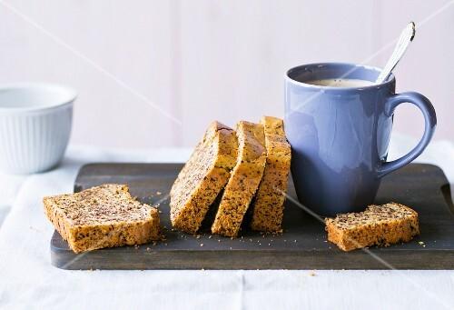 Baking with stevia: Grandma's chocolate loaf cake