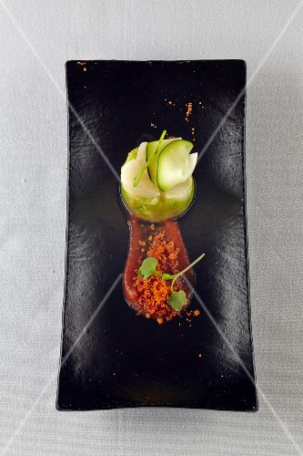 Scallops with limes (Galicia, Spain)