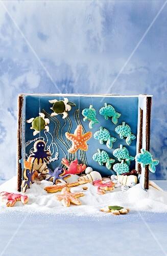 A sweet aquarium, a gift idea for children