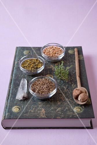 Seeds, spices and herbs for practising medicine according to Hildegard von Bingen