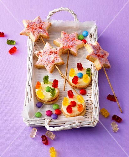 Baking for children: magic wands and carousel biscuits