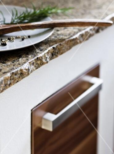 Arbeitsplatte kante for Granit kuchenplatte