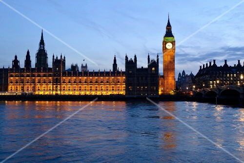 London, Westminster, Themse, Palace of Westminster, Big Ben