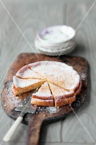 Old Viennese quark cake (Vienna, Austria)