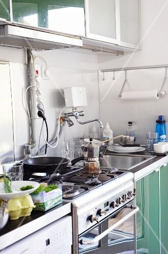 A student kitchen