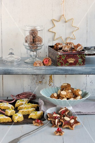 Christmas biscuits and confectionery