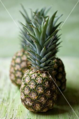 Three pineapples