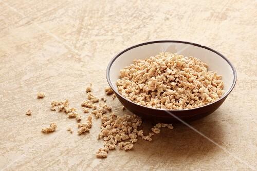 Soya granules
