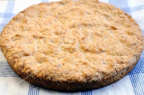 Sbrisolona (Italian almond cake)