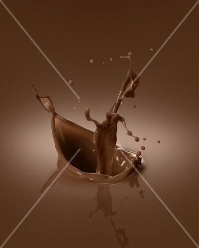 Chocolate splash