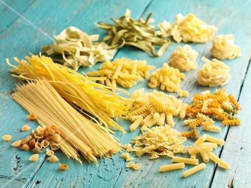 Dried Pasta Still Life