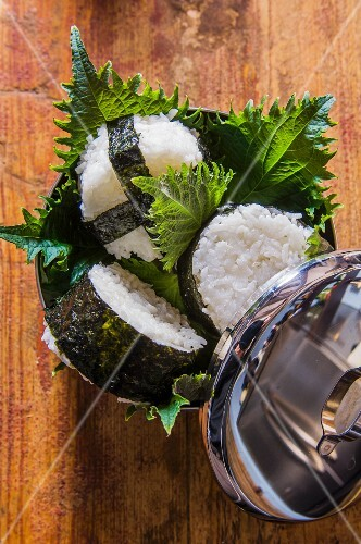 Onigiri (spicy rice balls, Japan)