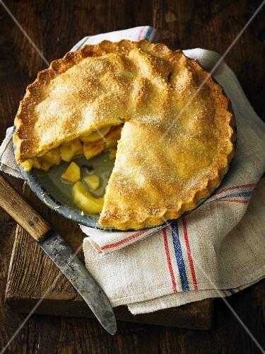 Removing Slice of Apple Pie