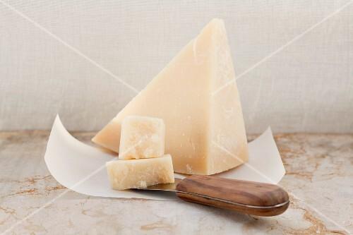 Grana Padano (Italian hard cheese)