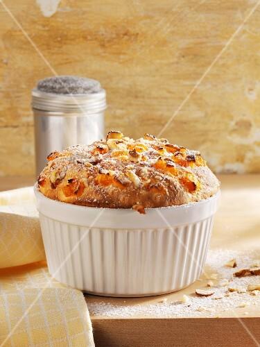 Sweet pumpkin souffle