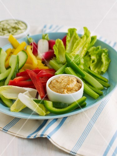 Crudite with Hummus