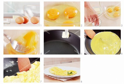 Making an omelette (English Voice-Over)