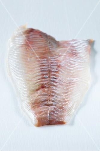 A fresh fish fillet