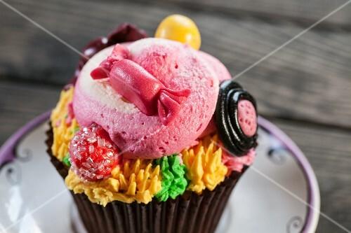 Cupcake for child's birthday