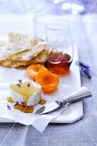 Cheese and Honey Plate