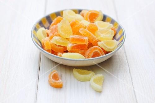 Candied citrus fruit