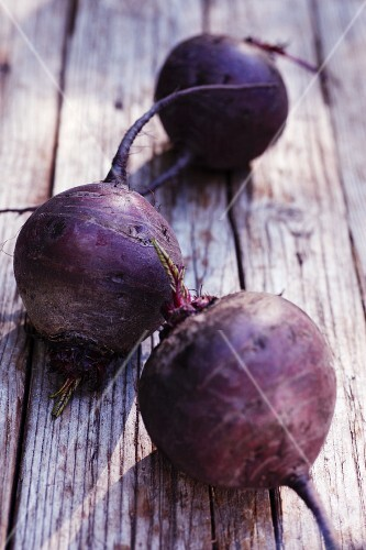 Beetroot on a wooden surface