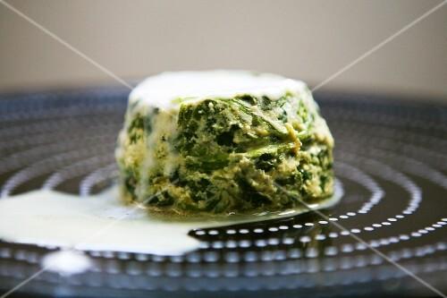 A spinach tart