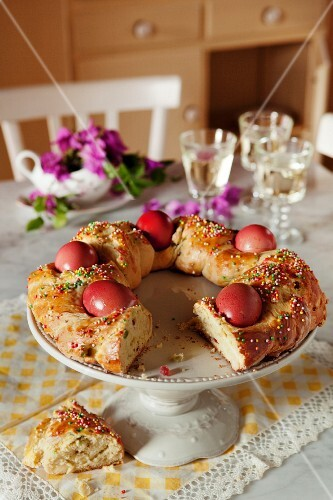 Italian Easter bread (Pane de pasqua)
