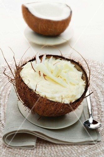 A coconut cup
