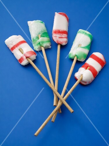 Striped lollies