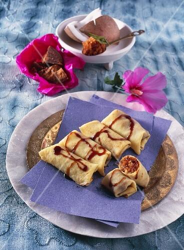 Coconut crepes