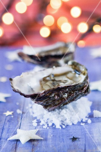 Fresh oysters for Christmas