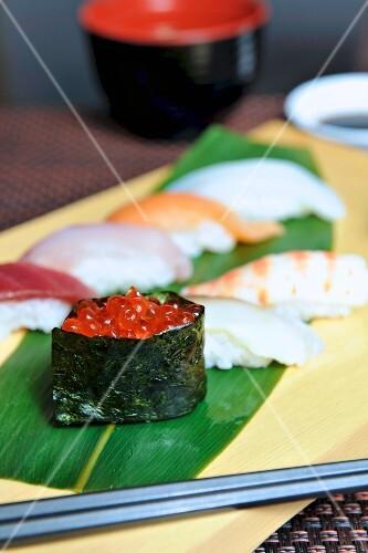 Assorted sushi (Japan)