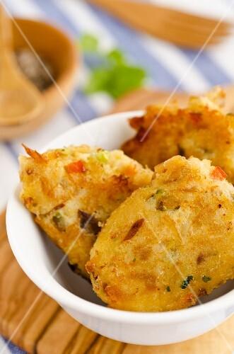 Stockfish cakes (Caribbean)