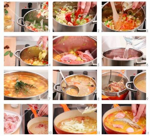 Bouillabaisse zubereiten