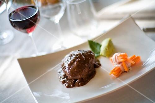 Brasato al Barolo (pot-roasted beef, Italy)