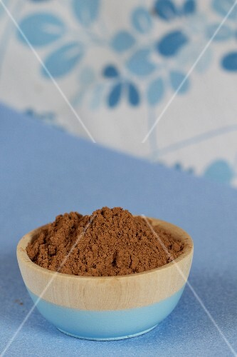 Raw Cocoa Powder; Full Frame