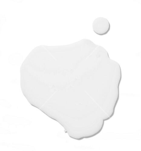 Spilt milk (viewed from above)