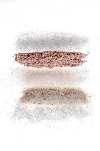 Various types of salt