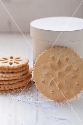 Spitzen-Kekse