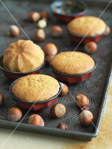 Gluten Free Hazelnut Flour Cakes