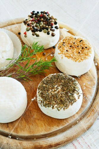 Goat's cheese with herbs and spices