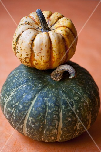 Stacked winter squash