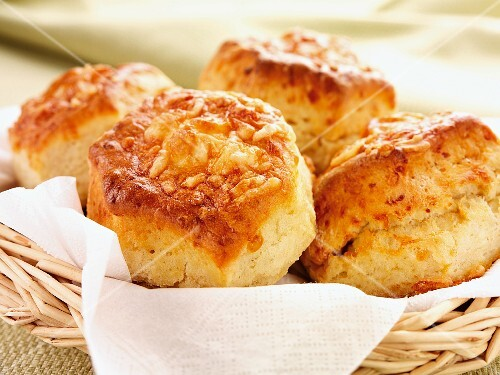 Four cheese scones