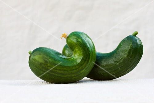 Rustic cucumbers