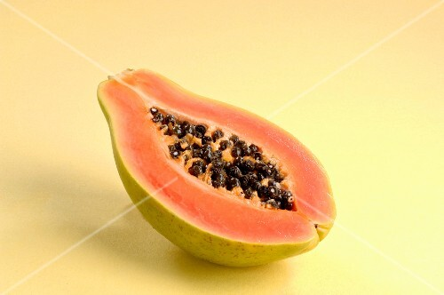 Half of a Papaya
