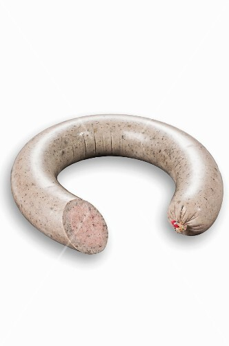 Pfälzer liver sausage in a ring