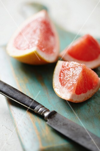 Grapefruit wedges