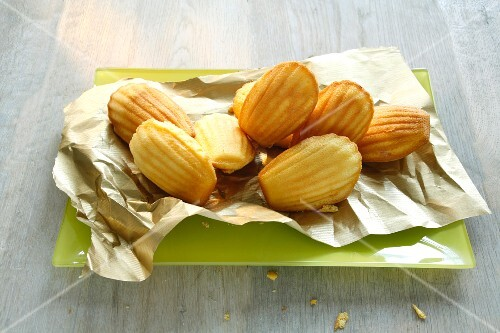 Madeleines on paper