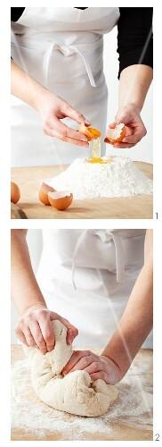 Making cake mixture